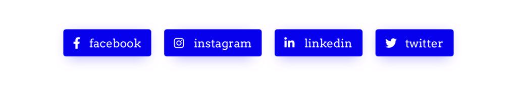 Example social media links